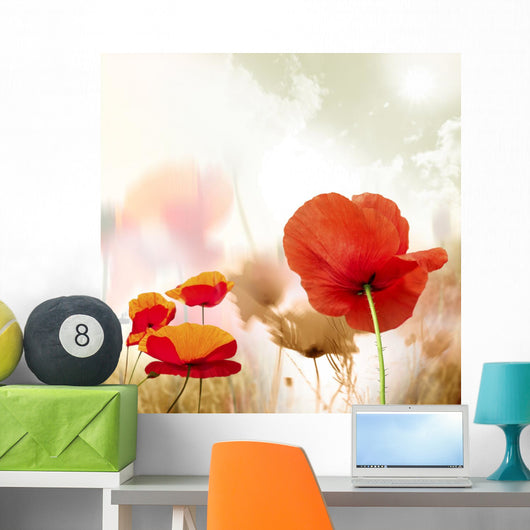 poppy seed Wall Mural