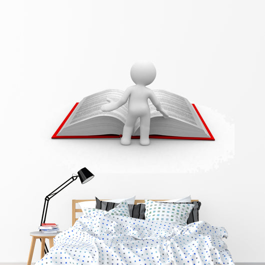 Learn More Wall Decal