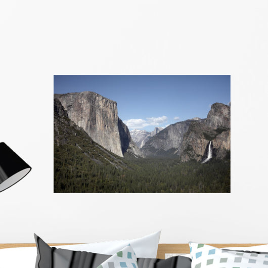 Yosemite National Park Waterfall Wall Mural