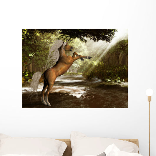 Forest Unicorn Wall Mural