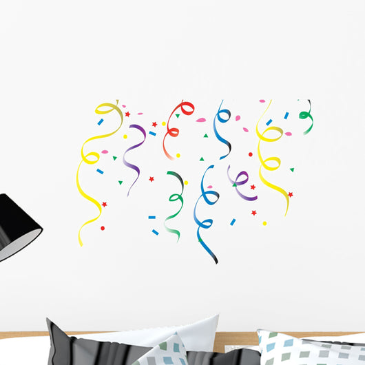 Top Confetti Wall Mural