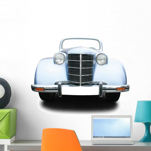 Vintage car Wall Decal