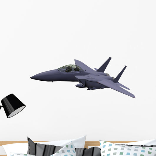 military airplane Wall Decal