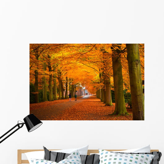 Autumn in the Forest Wall Mural