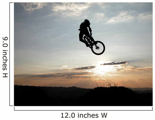 Mountain Bike Jump Wall Mural