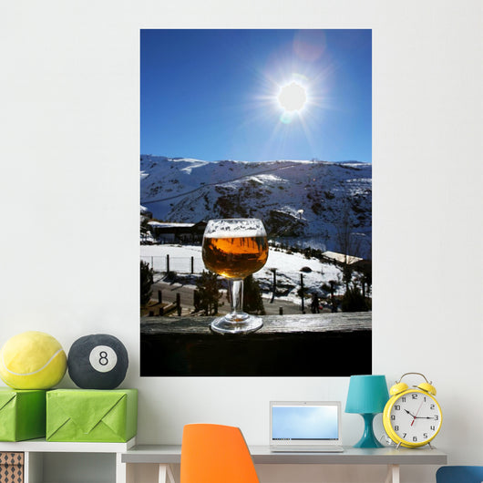 Glass of Beer Wall Mural
