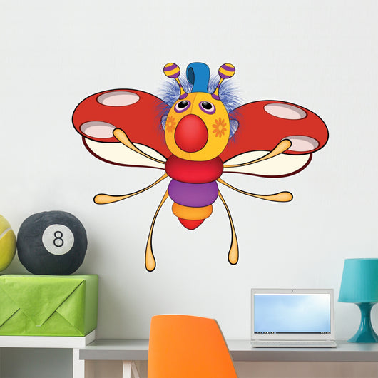 Ladybird from a Fairy Tale. Toy. Cartoon Wall Decal