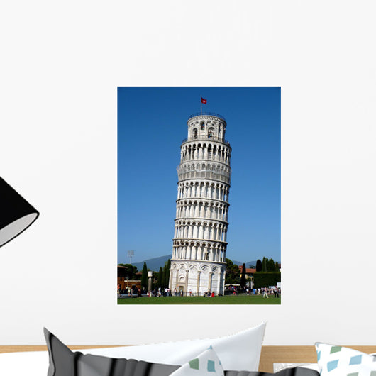 Tower of Pisa Wall Mural