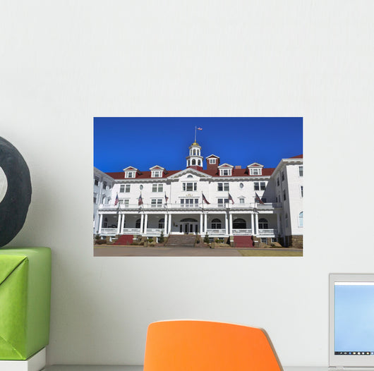 Stanley Hotel Historic Landmark Estes Colorafo Wall Mural