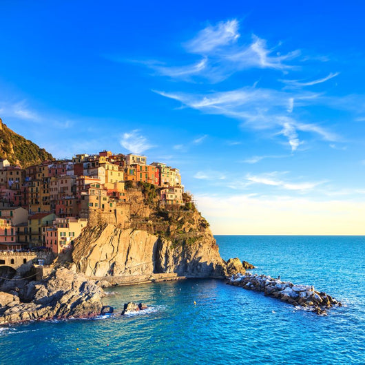 Manarola Village Rocks and