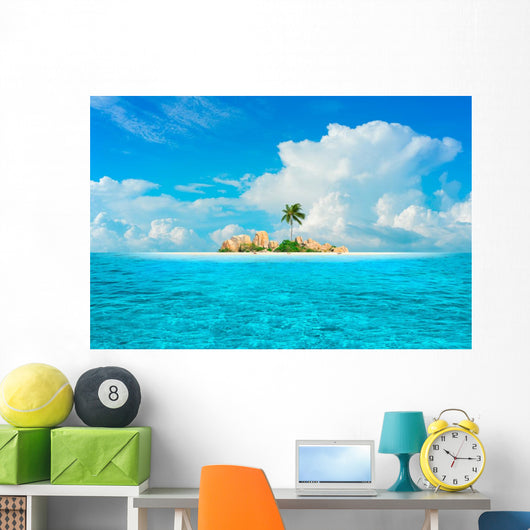 Dream Island Wall Mural
