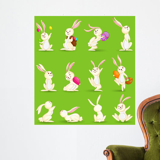 Vector Illustration Collection Easter Wall Mural