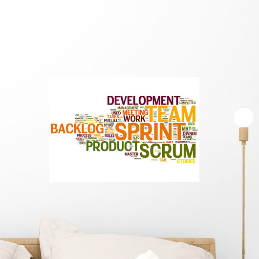 Scrum Wall Decal
