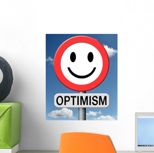 Optimist Wall Mural