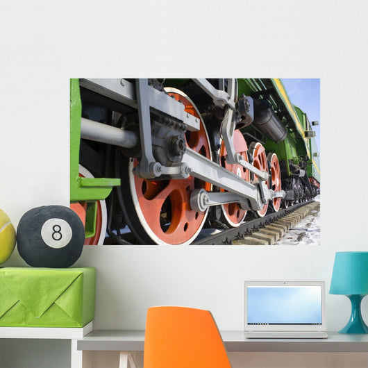 engine Wall Mural