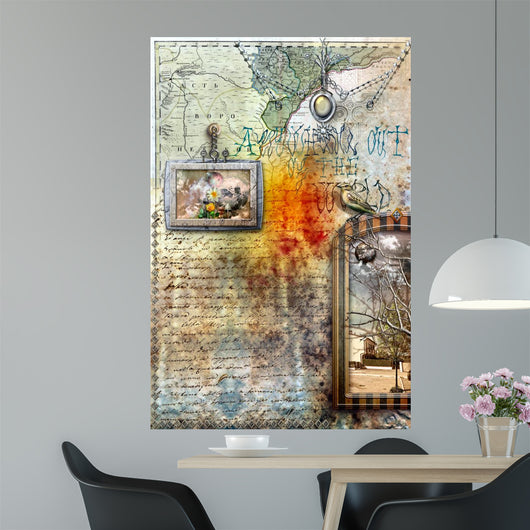 The magic flight - series Wall Mural
