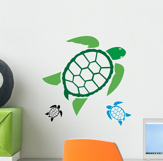 Vector Image Turtle White