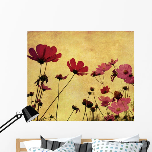 Old-fashioned Flower Wall Mural