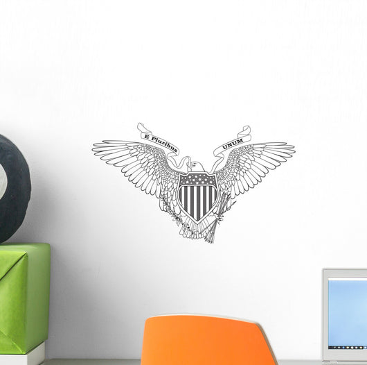 Great Seal of the Usa Wall Decal