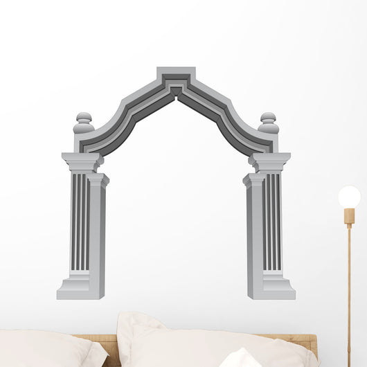 Marble Stone Baroque Entrance