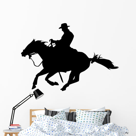 Quarter Horse - Western - Cowboy Wall Decal