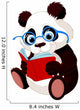 Cute Panda Education Wall Decal