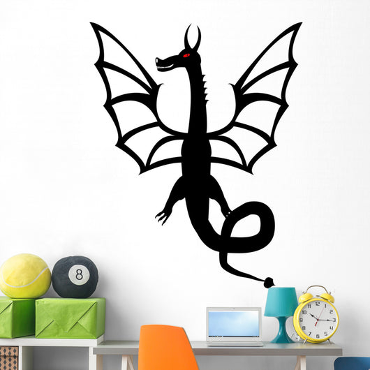 Dragon Tattoo Front Wall Mural