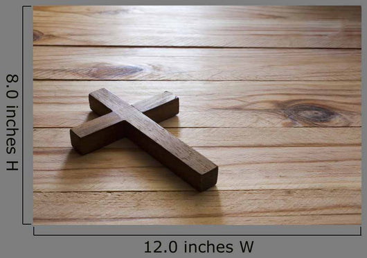 Cross over Wood Table