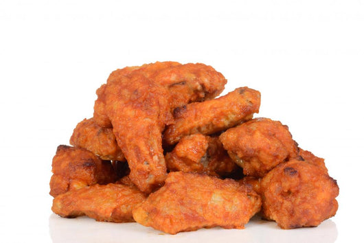Pile Chicken Wings
