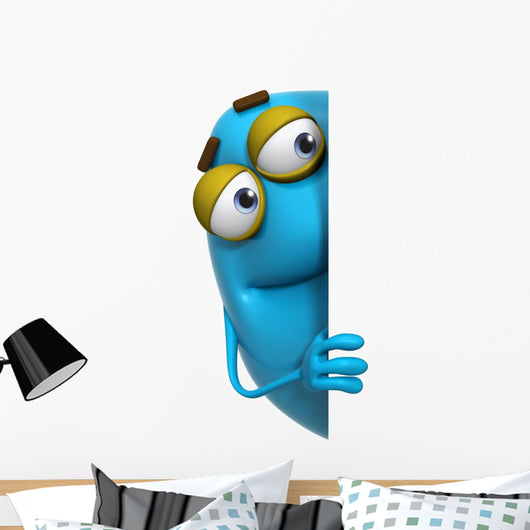 3D Cartoon Cute Blue