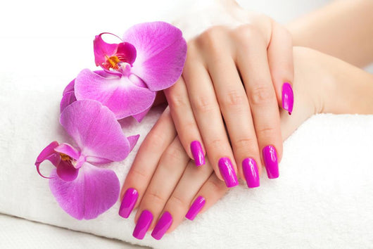 Female Hands with Fragrant