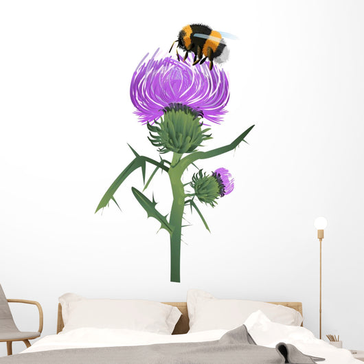 Thistle Wall Decal