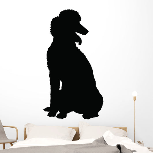Poodle Silhouette Wall Decal