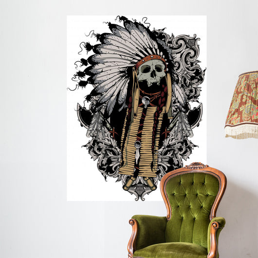 Indian Soul Wall Decal