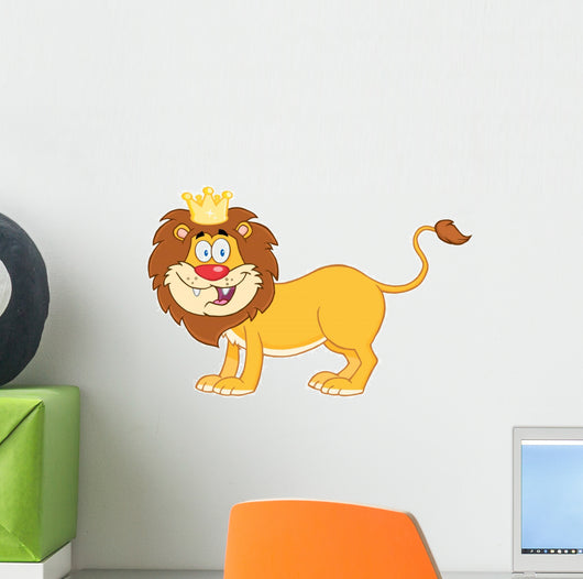 Lion King Jungle Wall Decal Wallmonkeys Com