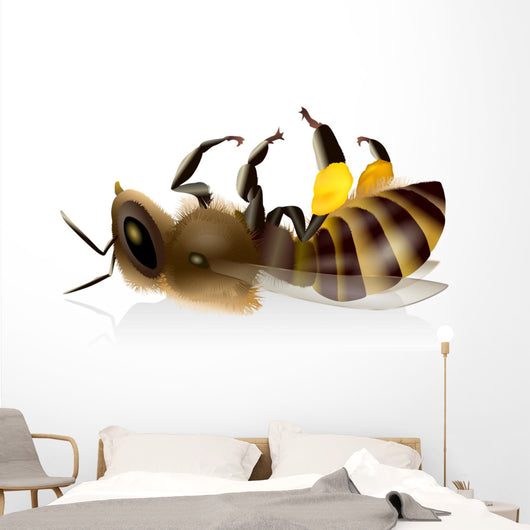 Dead Bee - The Bees (Dead Bee - Bee deaths) Wall Decal