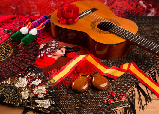 Cassic Spanish Guitar with
