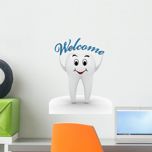 Welcome to the Dentist Wall Decal