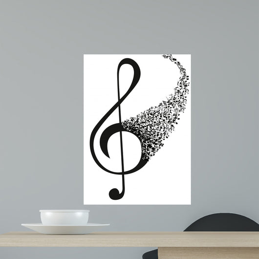 KEY SOL_Notes Wall Decal