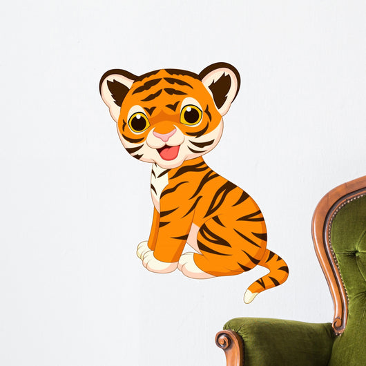 Cute Tiger Wall Decal