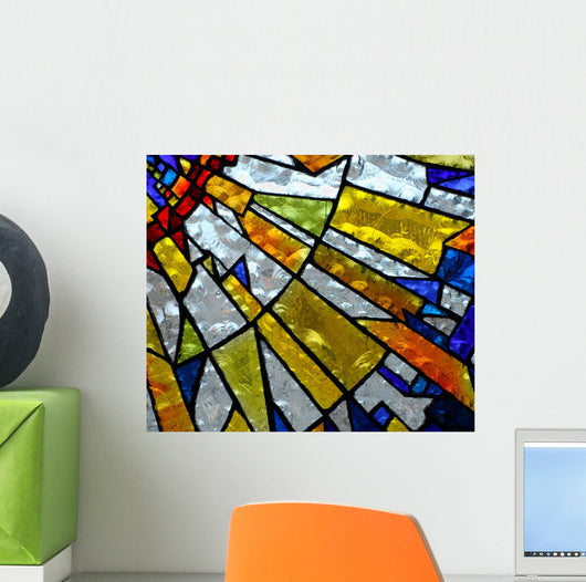 stainglass 5 Wall Mural