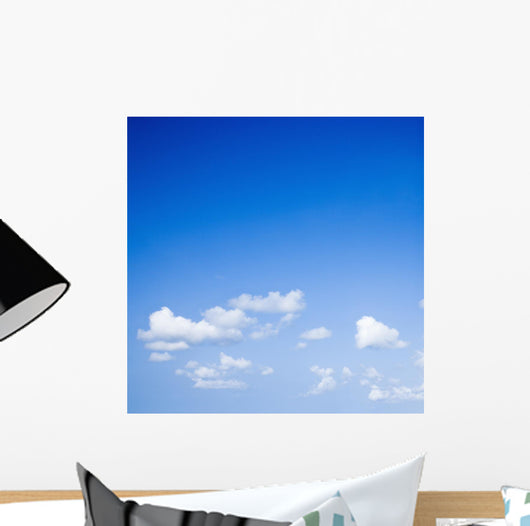 Blue Sky with Some Wall Decal