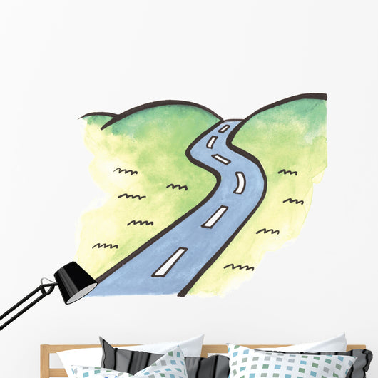 ROAD IN NATURE Wall Mural