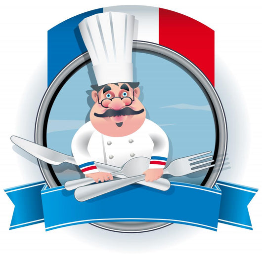 French Chef Wall Mural