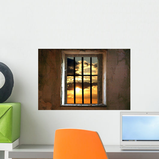 Prison Wall Mural