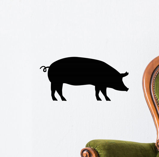 Pig Silhouette Wall Decal