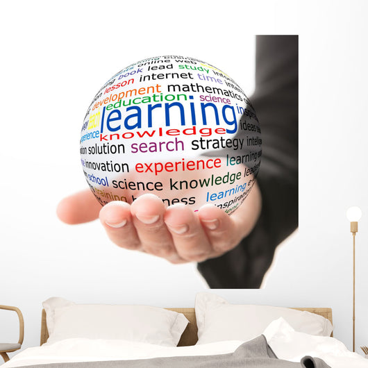 Learning Hand Wall Decal