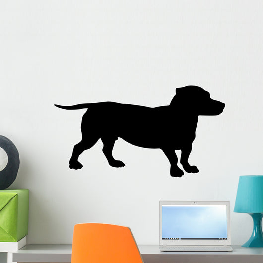 Dog Silhouette Wall Decal