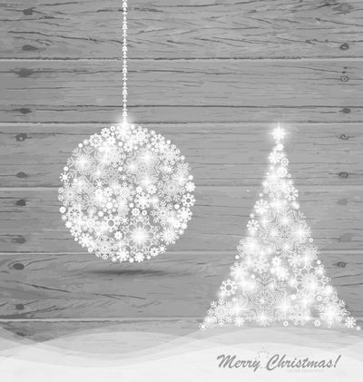 Christmas Ball and Christmas Wall Decal