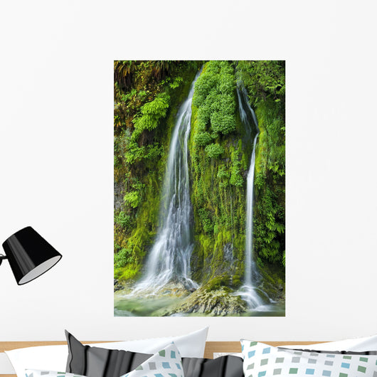 Salmon Creek Falls Oregon Wall Decal Wallmonkeys Com